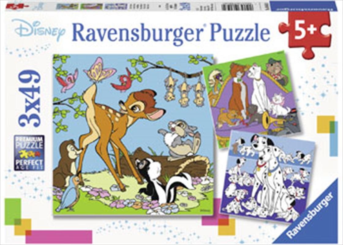 Ravensburger - Disney Friends Puzzle 3x49 Piece   Merchandise