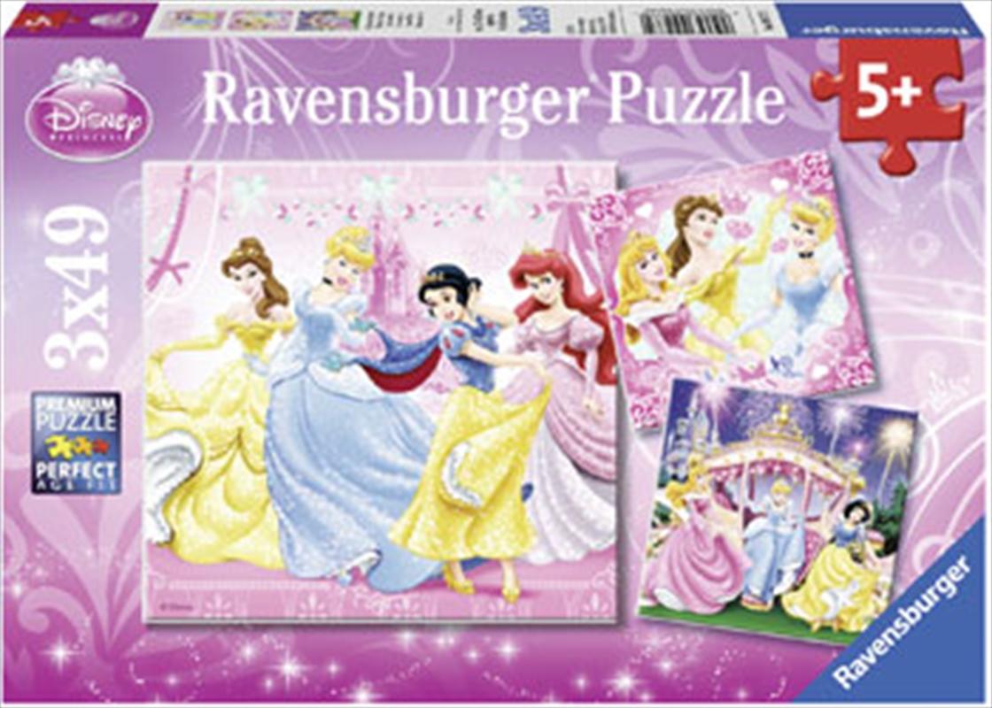 Ravensburger - Disney Snow White Puzzle 3x49 Piece   Merchandise