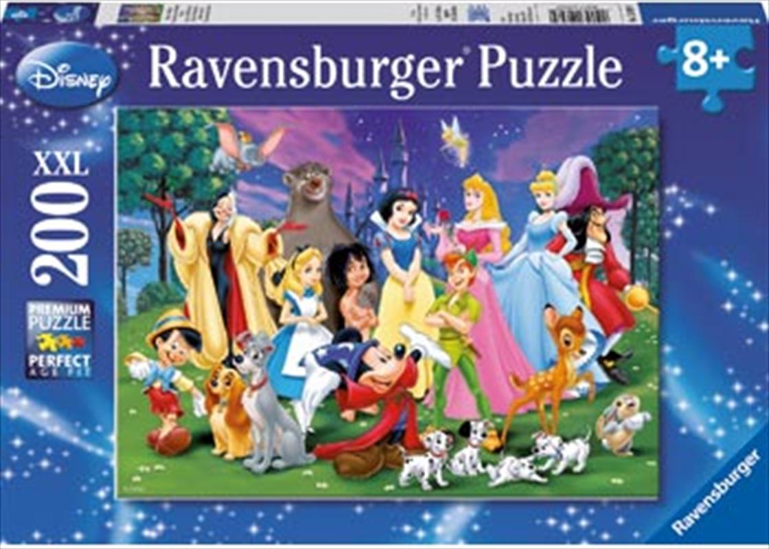Ravensburger - Disney Favourites Puzzle 200pc   Merchandise