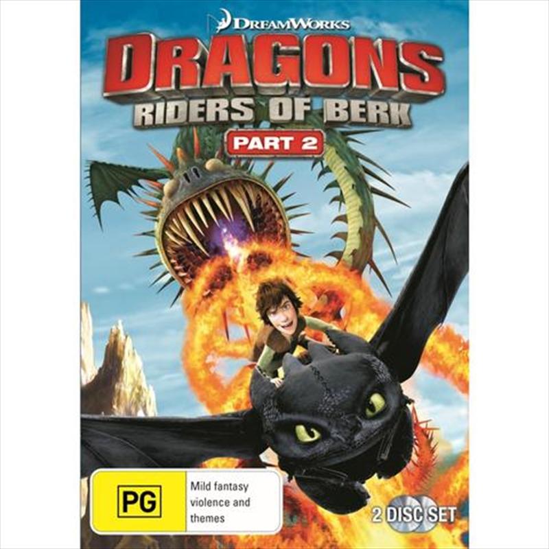 Dragons - Riders Of Berk - Part 2 | DVD