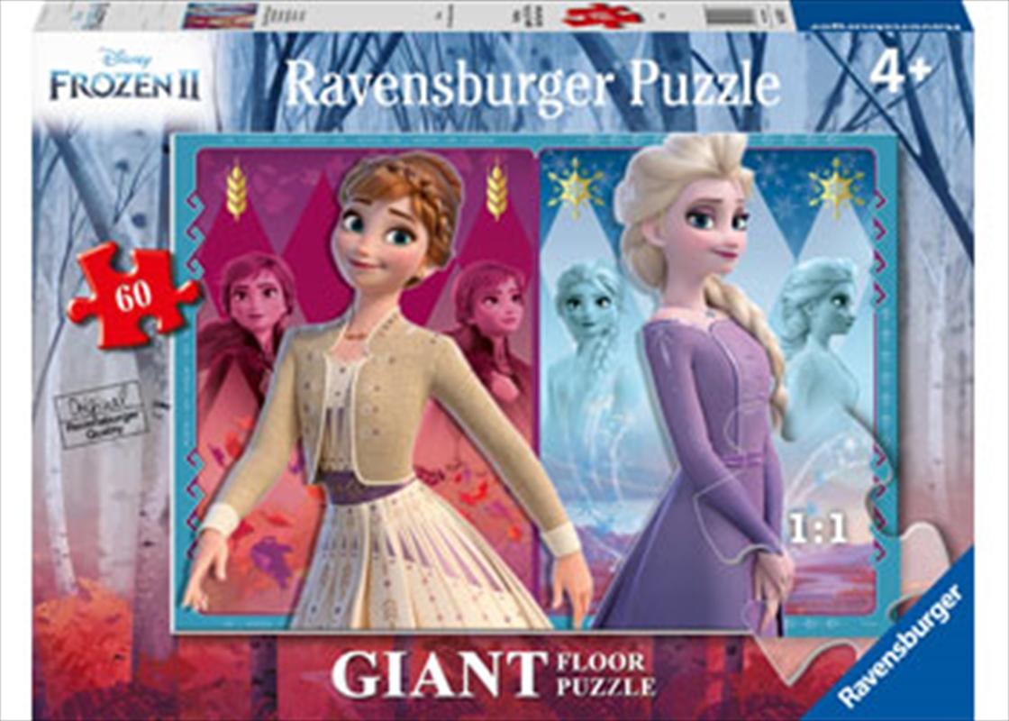 Frozen 2 Devoted Sisters 60 Piece Puzzle   Merchandise