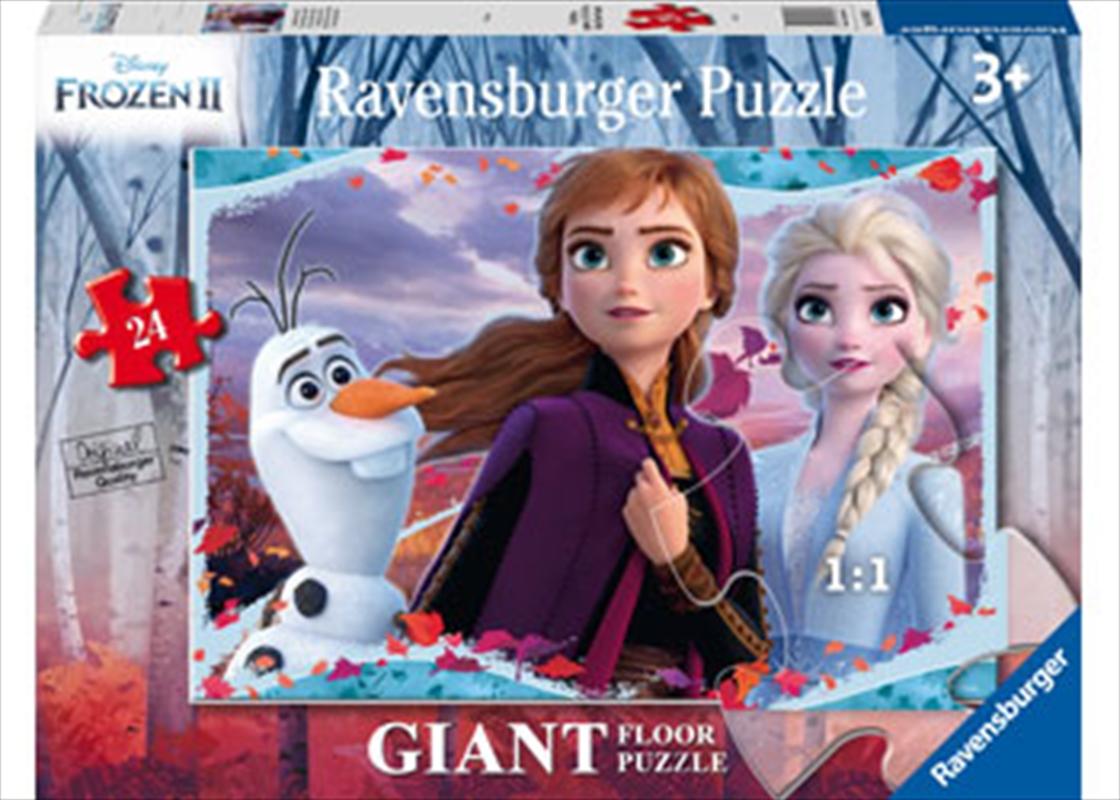 Frozen 2 Enchanting New World 24 Piece Puzzle | Merchandise