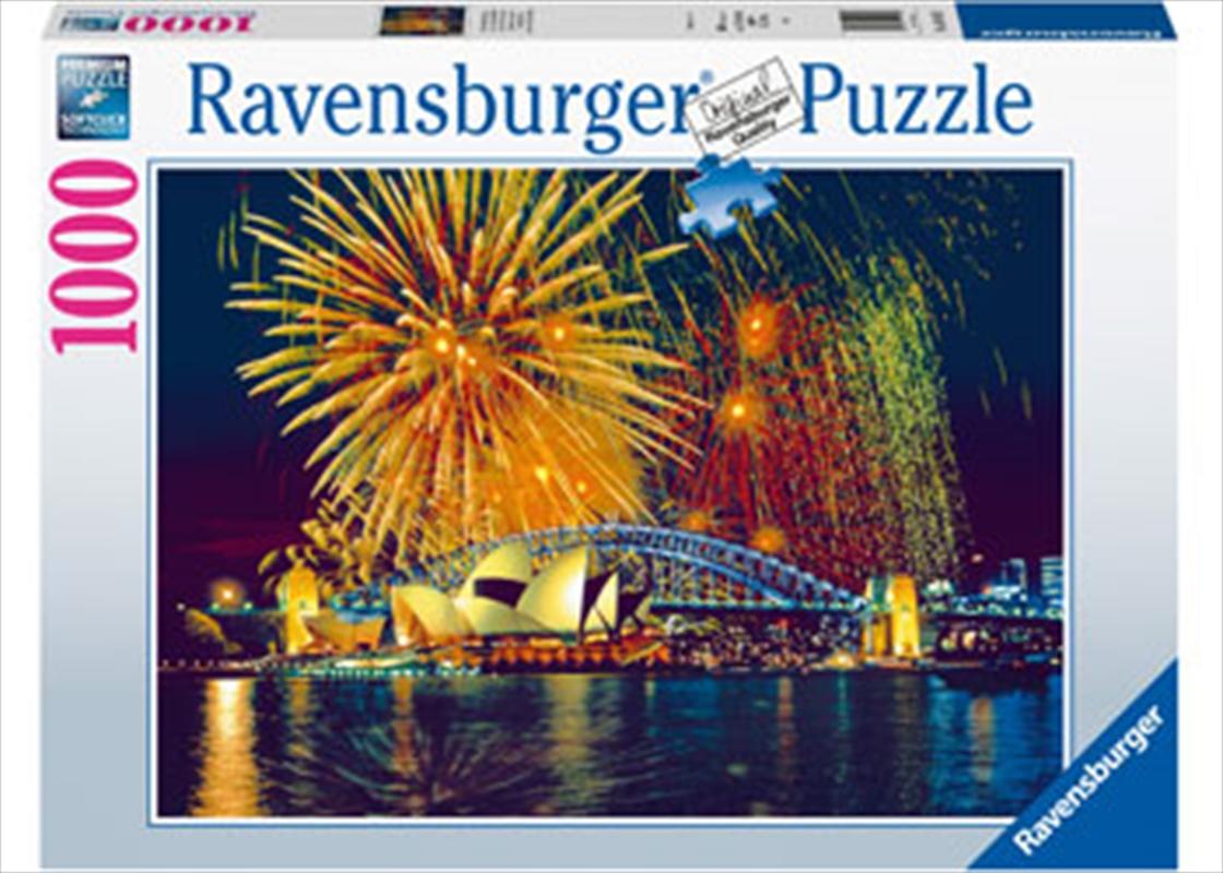 Fireworks Over Sydney Australia 1000 Piece Puzzle   Merchandise