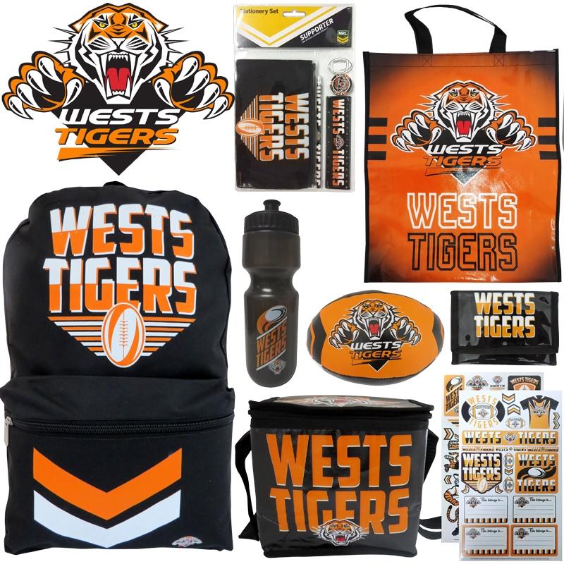 NRL Wests Tigers Showbag   Merchandise