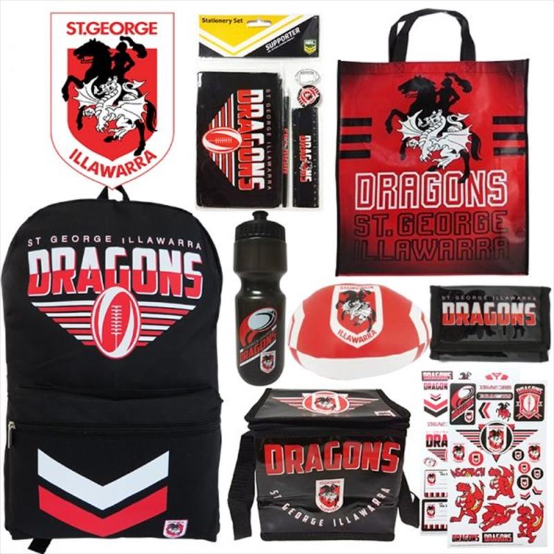 NRL St George Dragons Showbag V2 | Merchandise