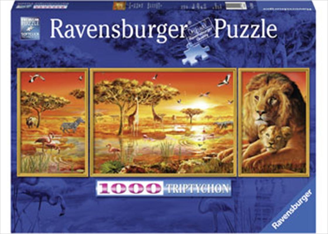 Ravensburger - African Majesty Puzzle 1000pc | Merchandise