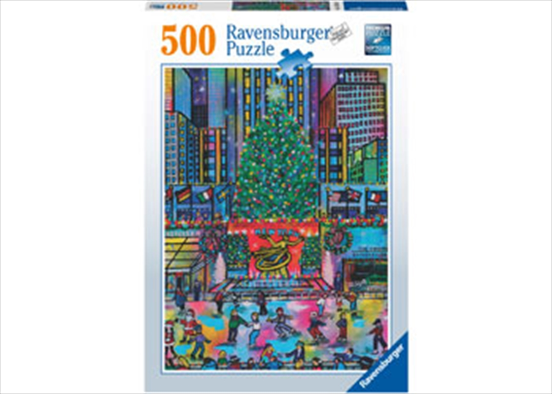 Rockefeller Christmas 500pc | Merchandise