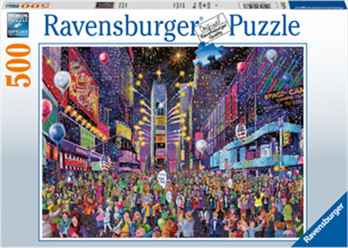 New Years In Times Square 500 Piece Puzzle | Merchandise