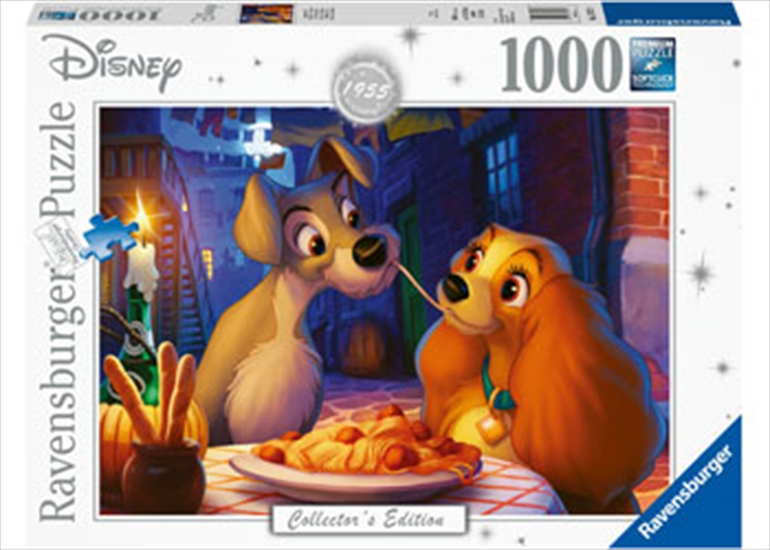 Moments Lady And Tramp 1000 Piece | Merchandise