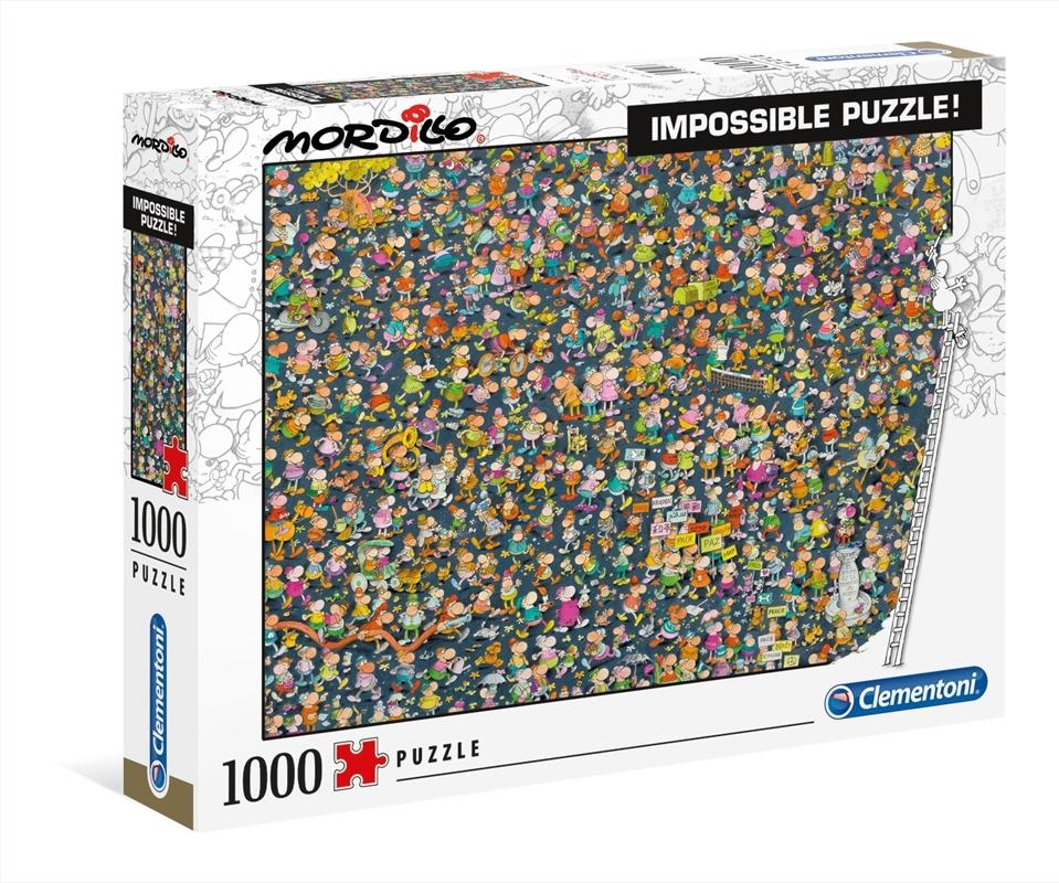 Mordillo: Impossible 1000 Piece Puzzle | Merchandise
