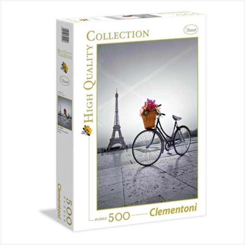 Romantic Promenade In Paris 500 Piece Puzzle | Merchandise