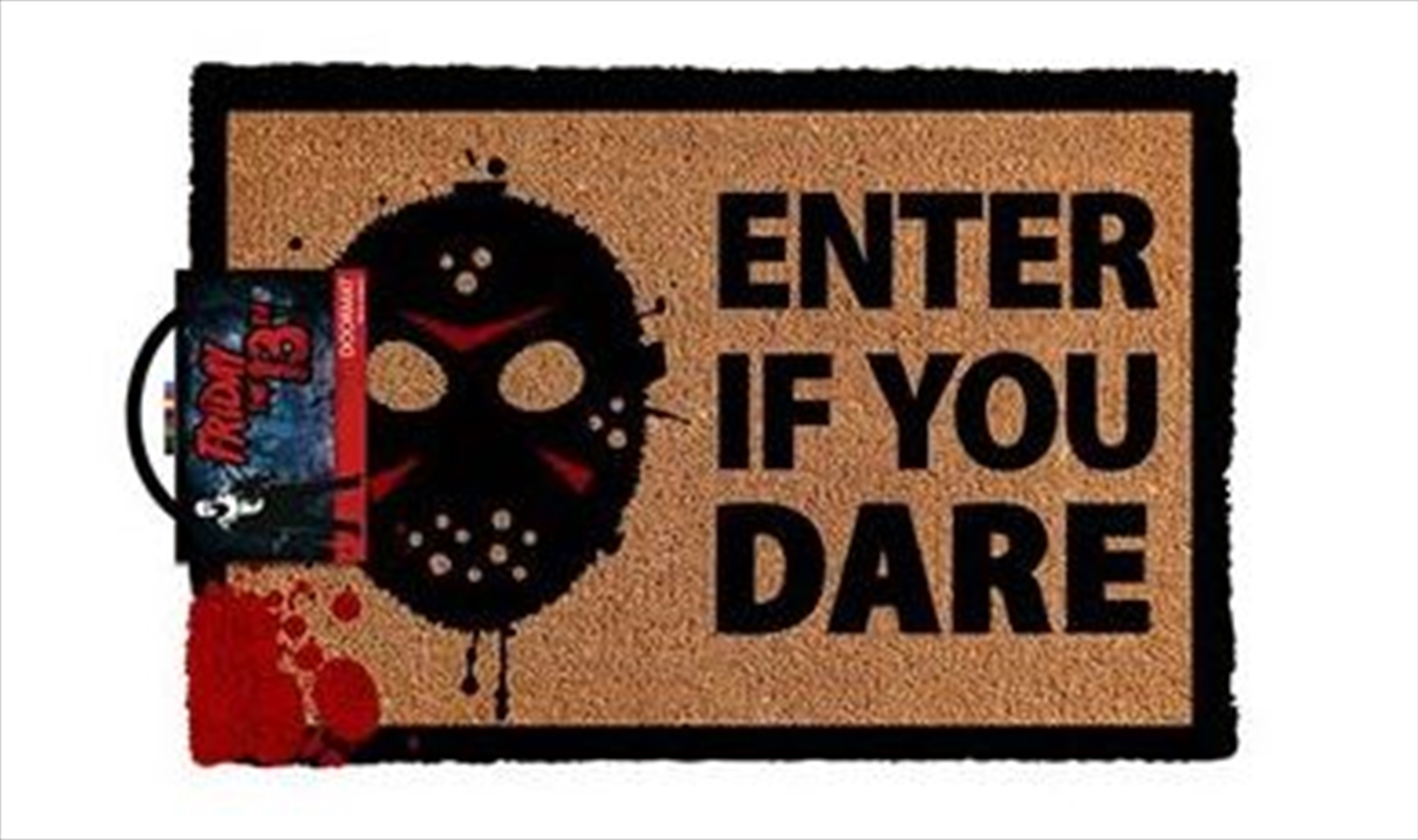 Friday The 13th - Enter If You Dare | Merchandise