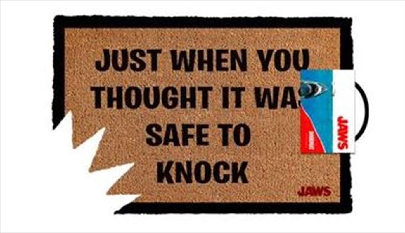 Jaws - Safe To Knock   Merchandise