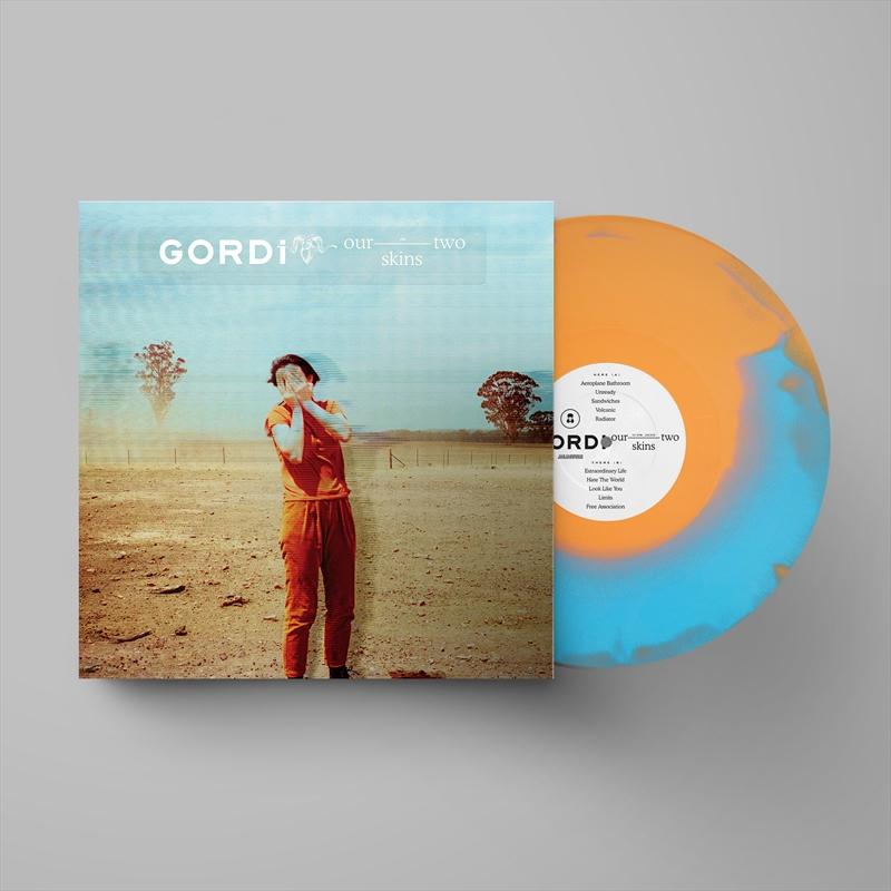 Our Two Skins - Orange/Blue Swirl Coloured Vinyl   Vinyl