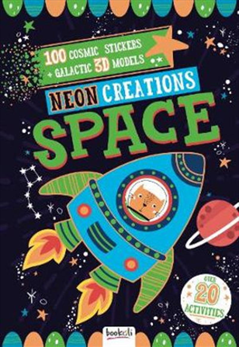 Neon Creations Make Your Own Space Models   Spiral Bound
