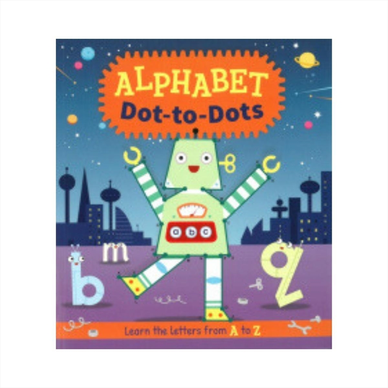 Alphabet Dot To Dots | Paperback Book