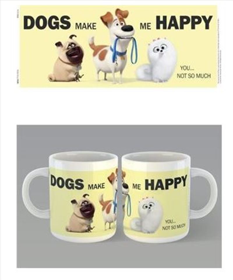 Secret Life Of Pets 2 - Dogs Make Me Happy | Merchandise