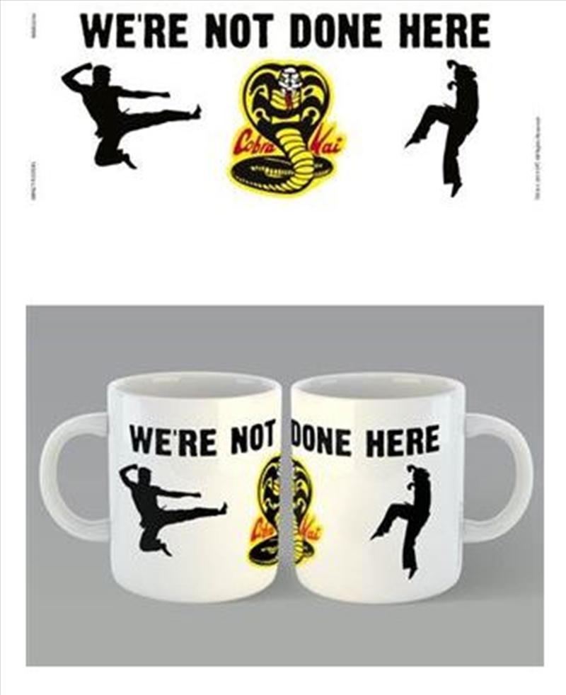 Cobra Kai - We're Not Done Here | Merchandise