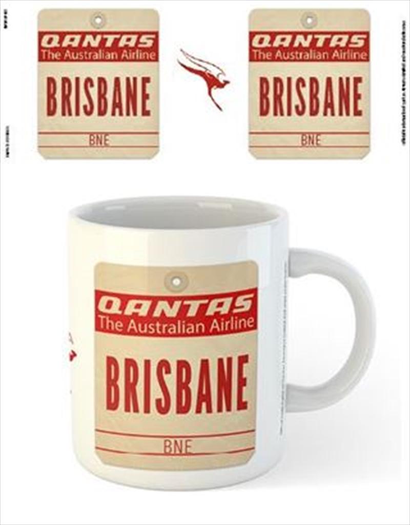 Qantas - Brisbane Destination Tag | Merchandise