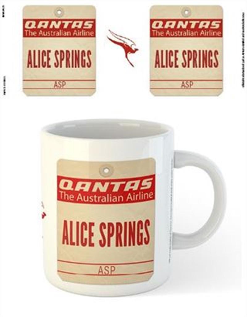 Qantas - Alice Springs Destination Tag | Merchandise