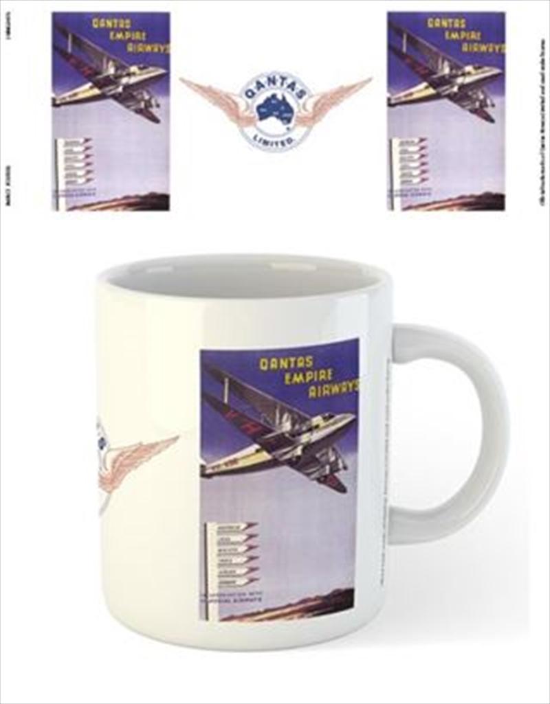 Qantas - Empire Airways DeHavillad 86 Airplane | Merchandise