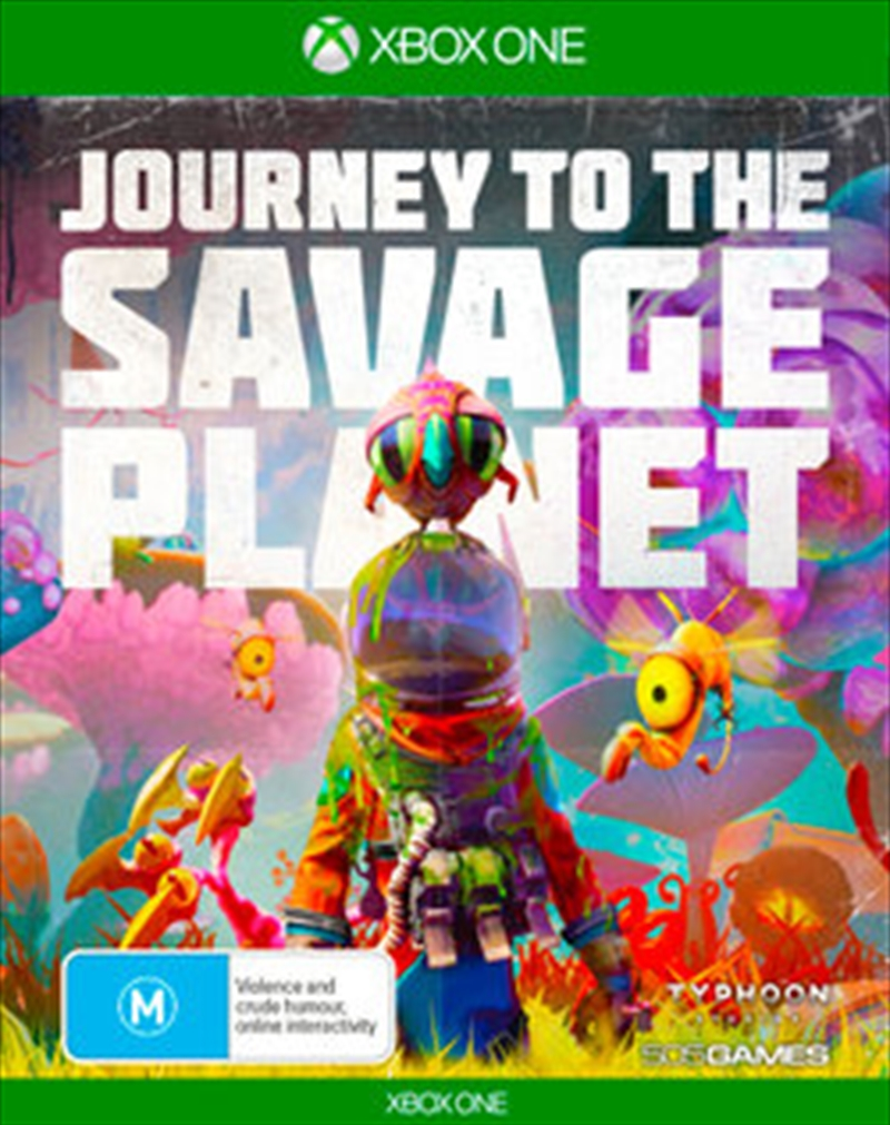 Journey To The Savage Planet | XBox One