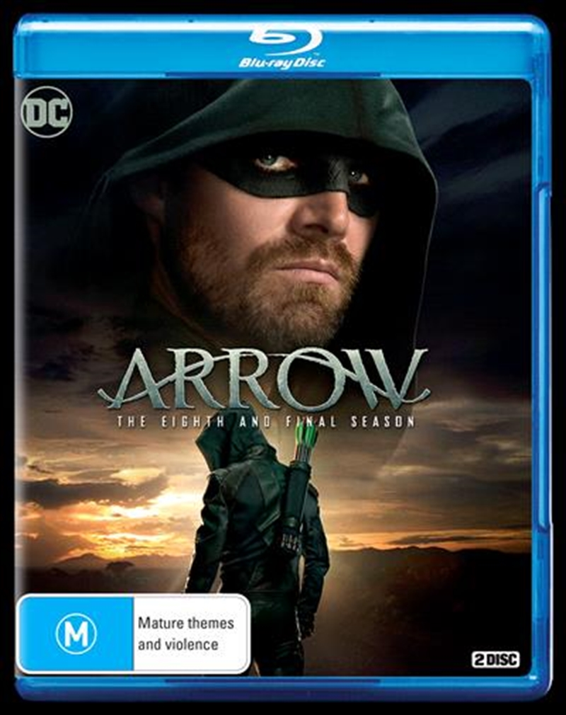 Arrow - Season 8   Blu-ray
