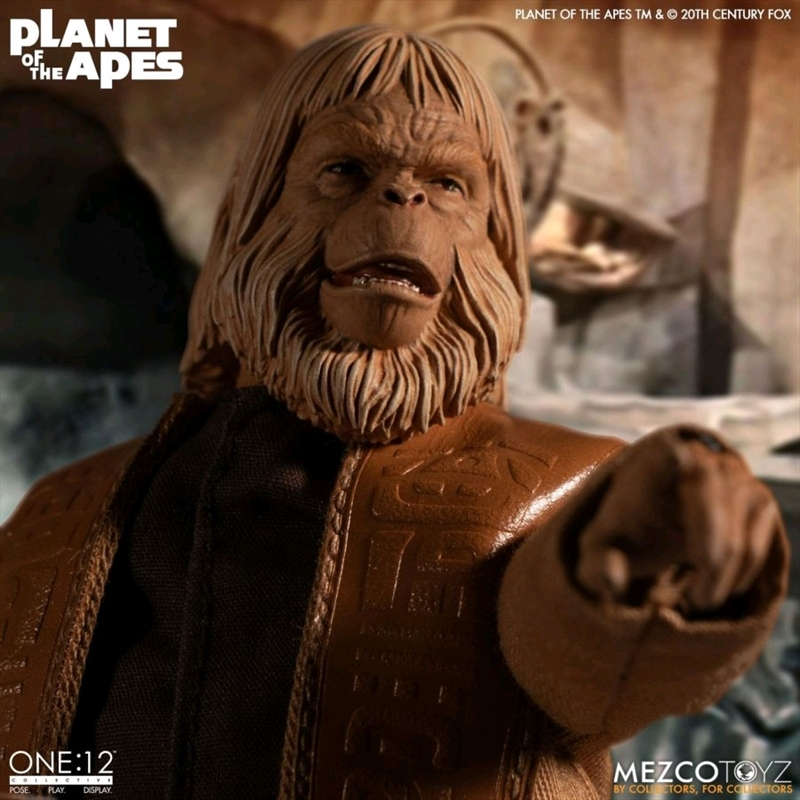 Planet of the Apes - Dr Zaius One:12 Collective Action Figure | Merchandise