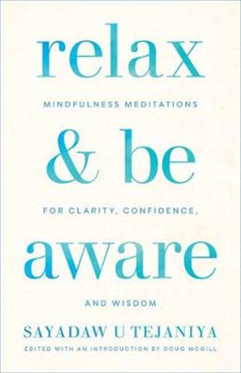 Relax and Be Aware | Paperback Book