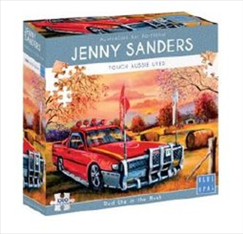 Red Ute In The Bush 1000pc | Merchandise