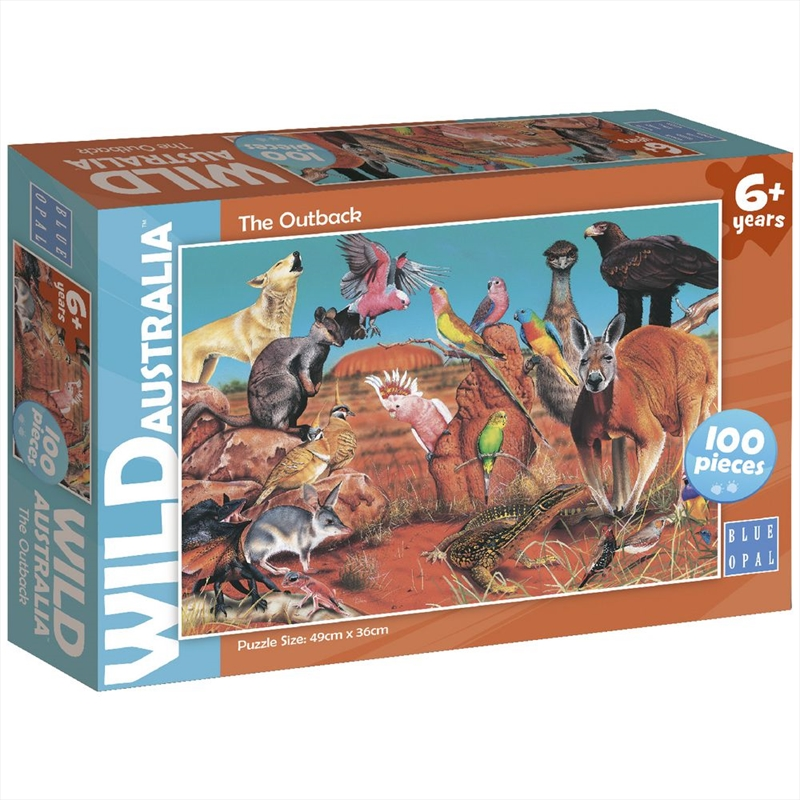 Wild Australia Outback 100 Piece Puzzle | Merchandise