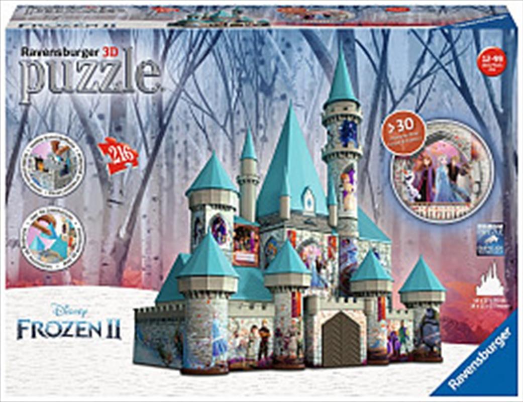 Ravensburger Disney Frozen 2 Castle 3D Puzzle 216 Pieces | Merchandise