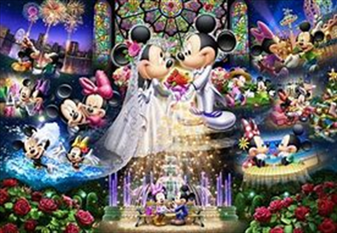 Tenyo Disney Mickey & Minnie Forever Promise Wedding Dream Puzzle 1,000 pieces | Merchandise