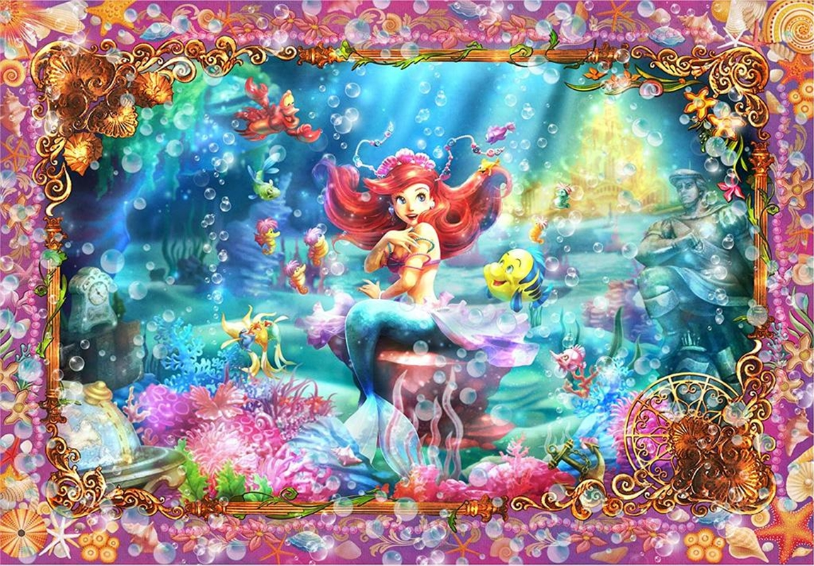Tenyo Disney the Little Mermaid Ariel Beautiful Mermaid Puzzle 500 pieces | Merchandise