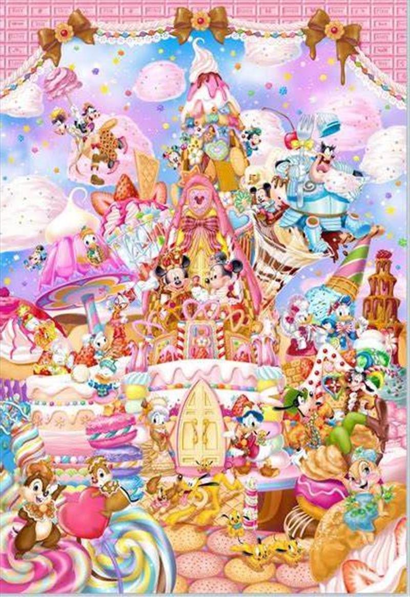Tenyo Disney Mickey's Sweet Kingdom Puzzle 266 pieces   Merchandise