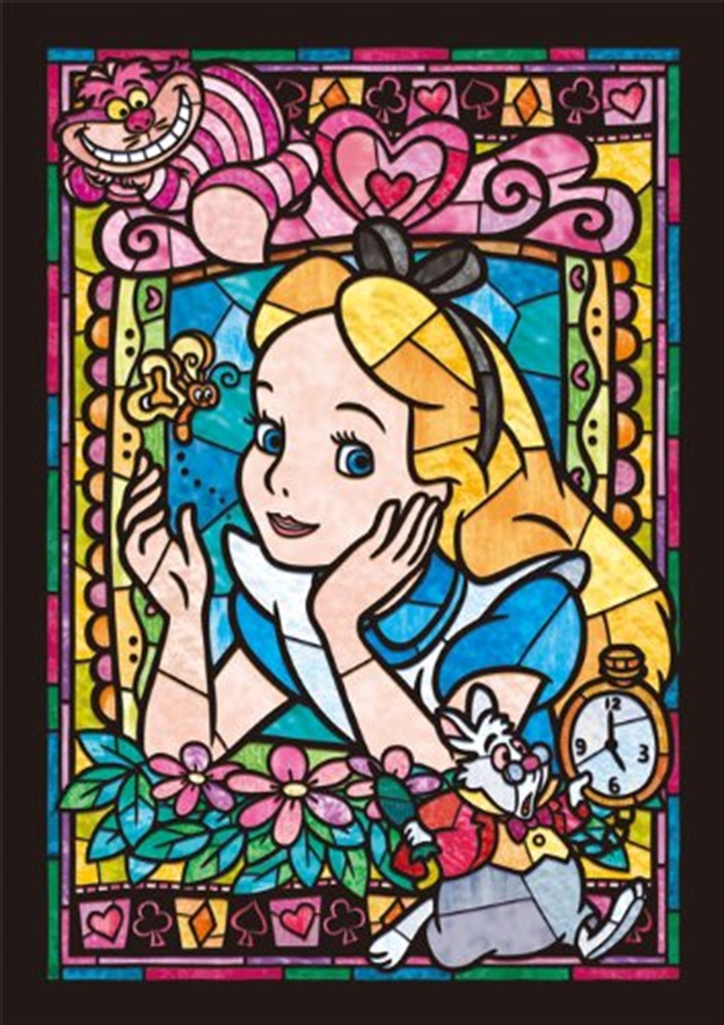 Alice In Wonderland - Alice Stained Glass 266 Piece Puzzle   Merchandise