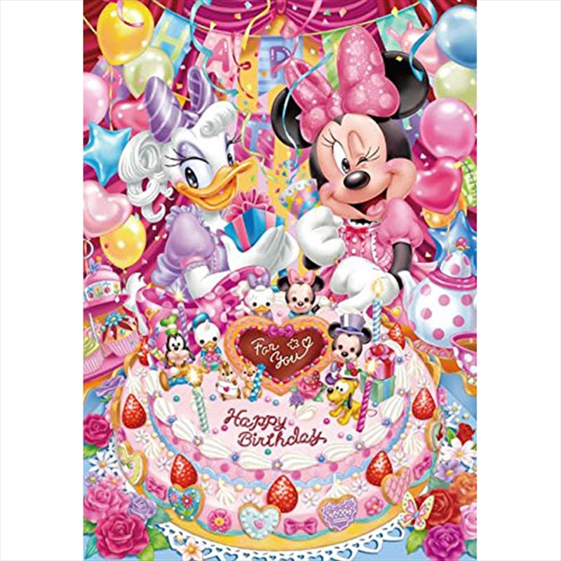 Tenyo Disney Minnie and Daisy's Birthday Party Puzzle 266 pieces | Merchandise
