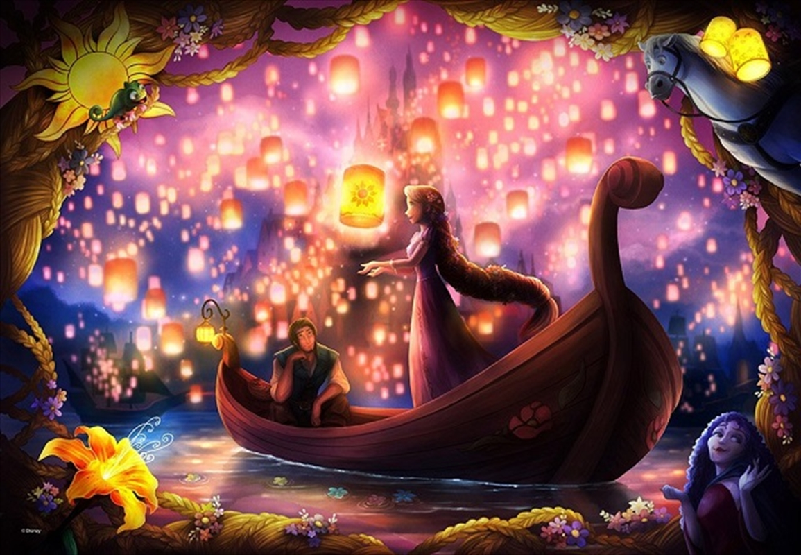 Tenyo Disney Rapunzel's Wrapped in Thought Puzzle 500 pieces | Merchandise