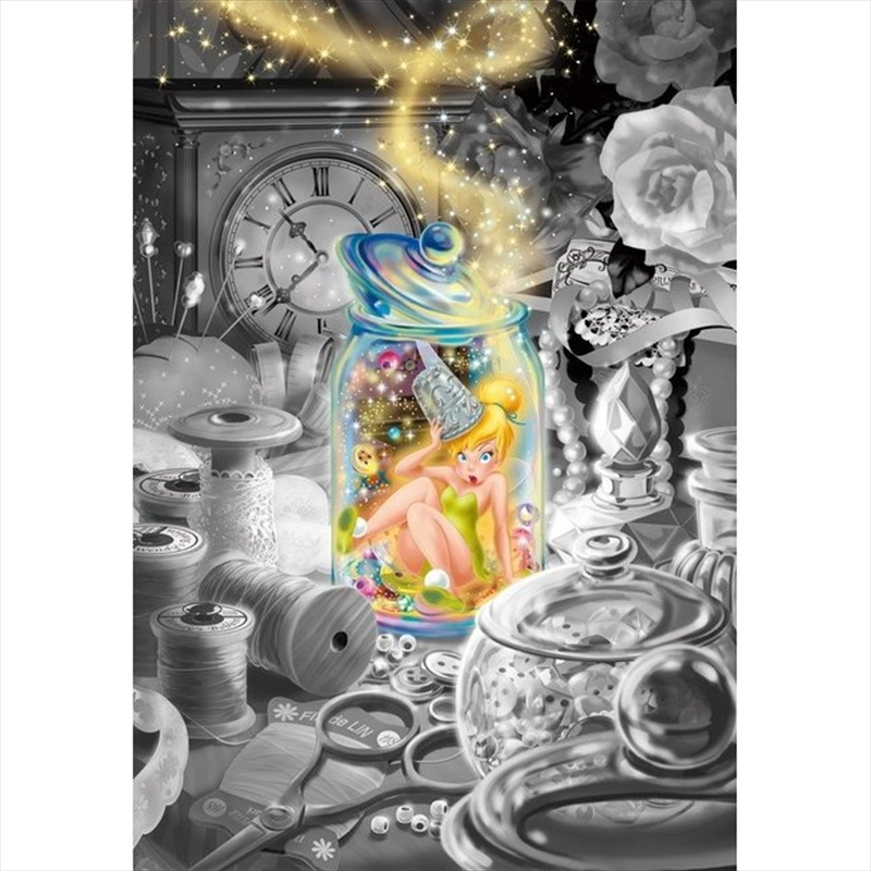 Tenyo Disney Tinkerbell Oh I fell Down Frost Art Puzzle 500 pieces | Merchandise