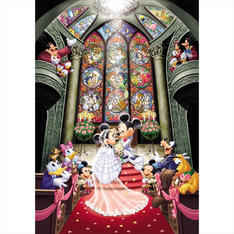 Tenyo Disney Mickey & Minnie Fantasy Celebration Puzzle 1,000 pieces | Merchandise