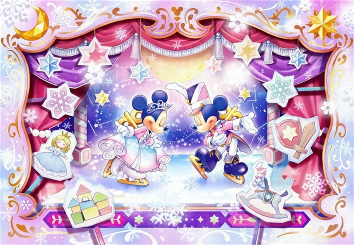 Tenyo Disney Mickey & Minnie's Toy Kingdom Ice Show Puzzle 500 pieces   Merchandise