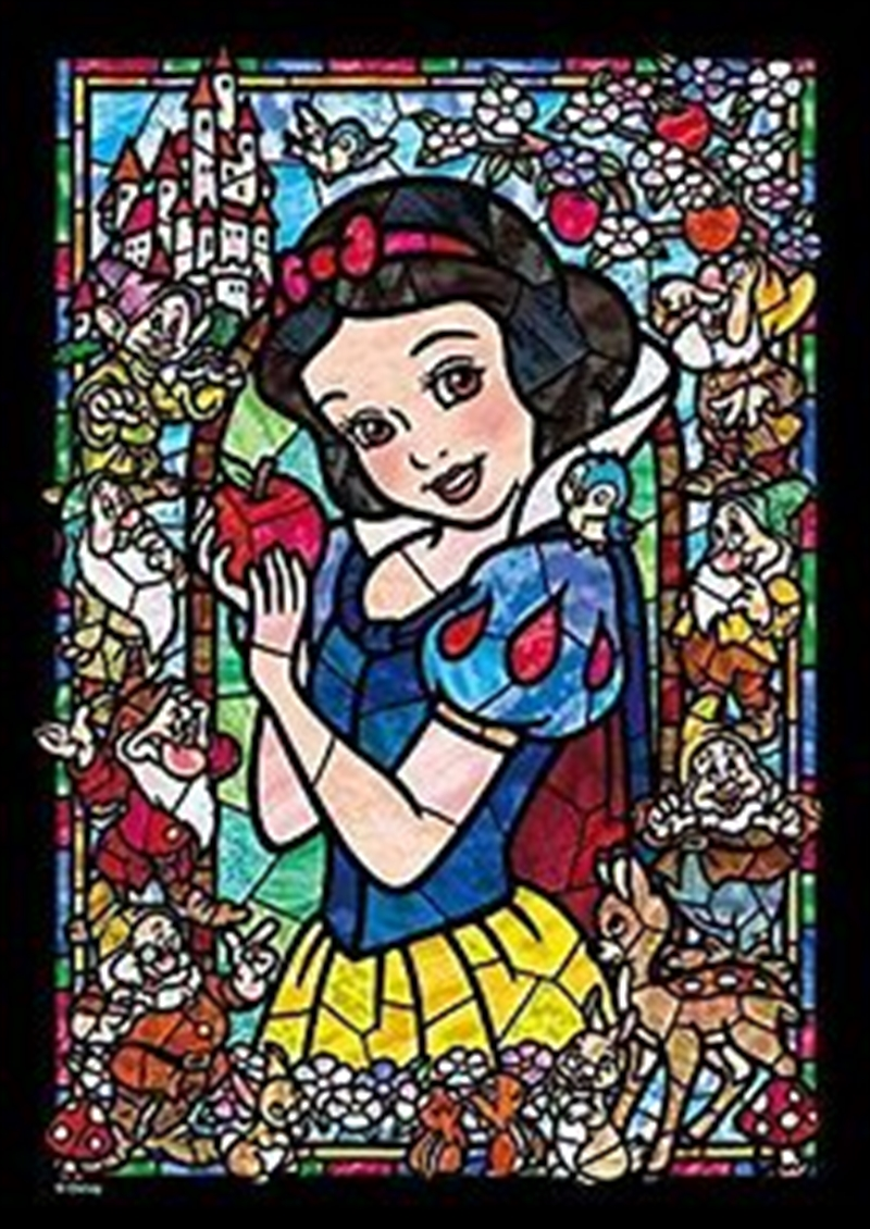 Tenyo Disney Snow White and the Seven Dwarfs Stained Glass Puzzle 266 pieces   Merchandise