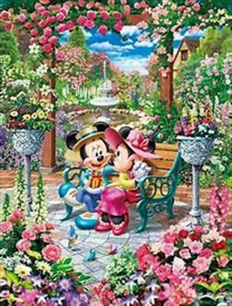 Tenyo Disney Mickey & Minnie Blooming Love Royal Garden Puzzle 500 pieces   Merchandise