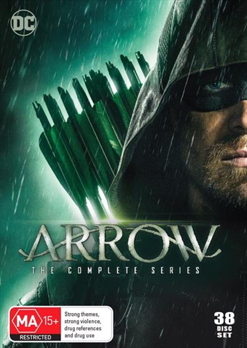 Arrow - Season 1-8   Boxset   DVD