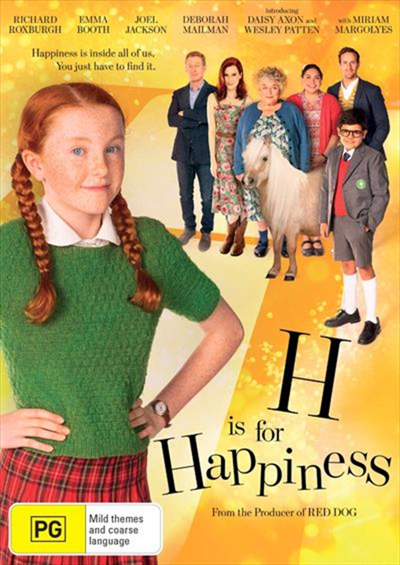 H Is For Happiness | DVD