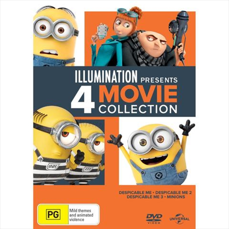 Despicable Me 4 Pack | DVD