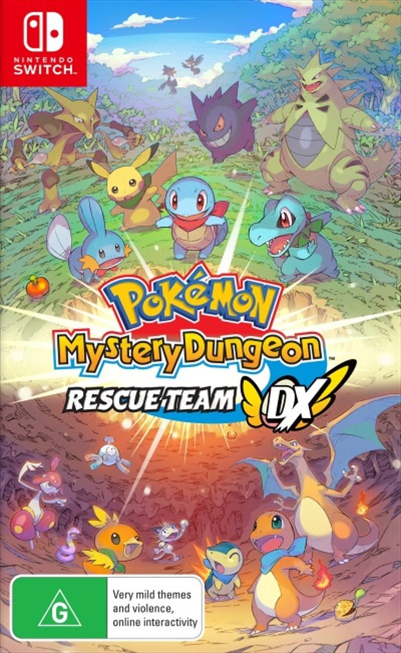 Pokémon Mystery Dungeon: Rescue Team DX | Nintendo Switch