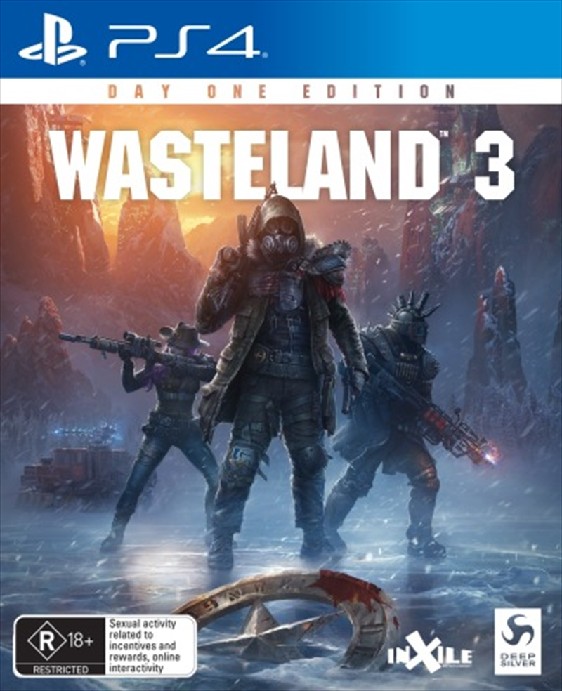 Wasteland 3 Day One Edition | PlayStation 4