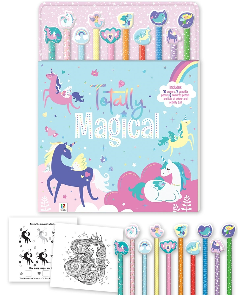 Totally Magical 10 Pencil Set | Paperback Book