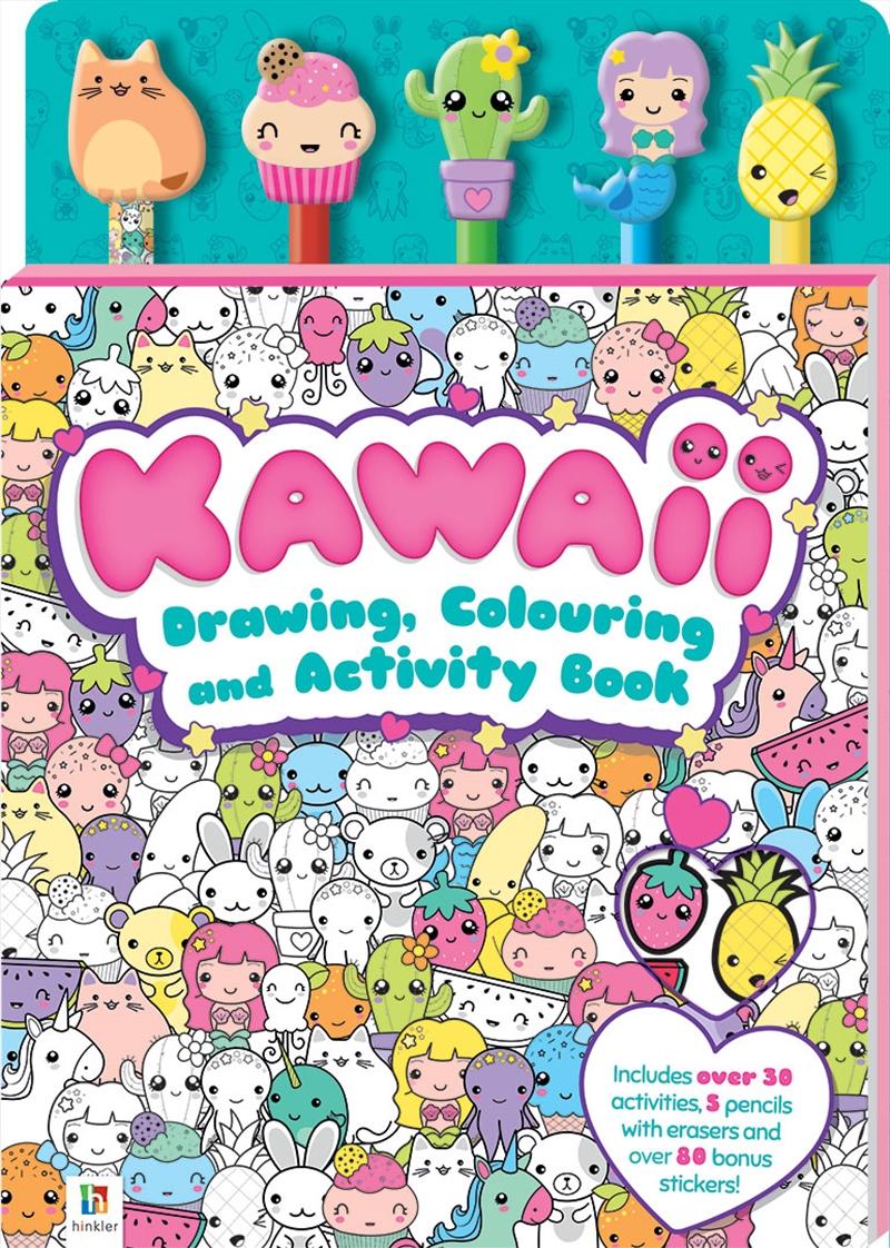 Kawaii Activity Book | Paperback Book